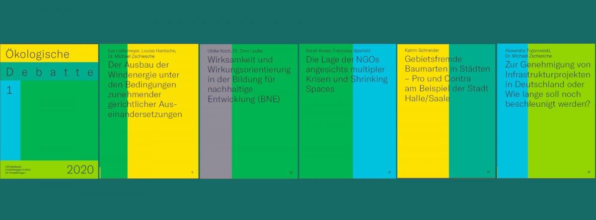 Nachrichten aus dem UfU: Gebietsfremde Baumarten in Städten - Pro und Contra am Beispiel der Stadt Halle